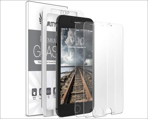 purity iphone se 2020 tempered glass screen protector