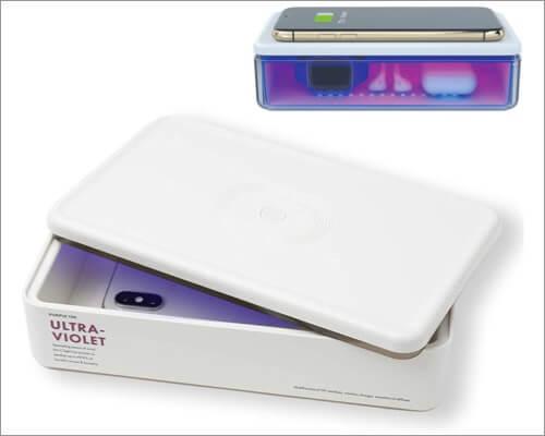 PurpleTek UV Sanitizer for iPhone