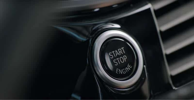 push button to start your car