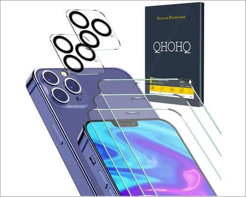 QHOHQ Privacy Screen Protector for iPhone 12 Pro Max