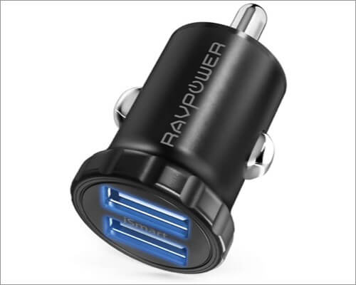 ravpower iphone se 2020 usb car charger