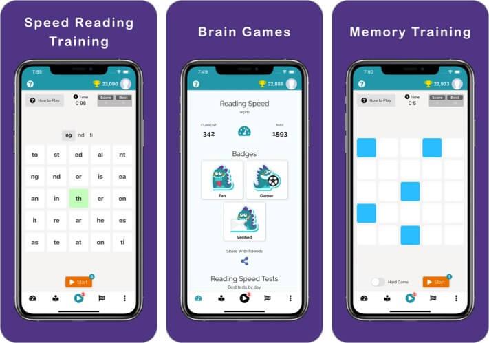 readfax speed reading iphone and ipad app screenshot