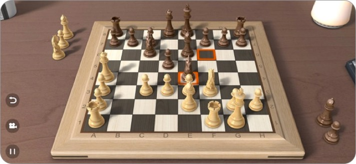real chess 3d iphone and ipad game screenshot