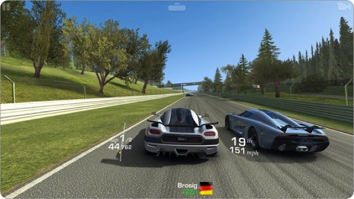 real racing 3 apple tv game screenshot