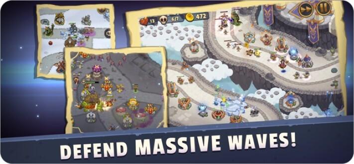 realm defense: hero legends td iphone and ipad game screenshot