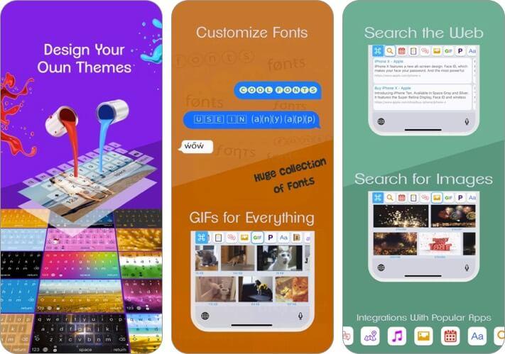 reboard keyboard iphone and ipad app screenshot