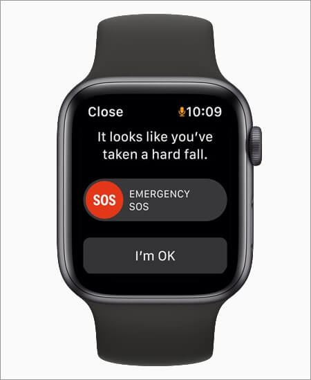 receive emergency sos notification on apple watch