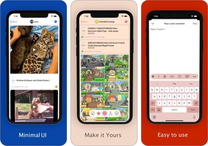 ReSurfer for Reddit iPhone app screenshot