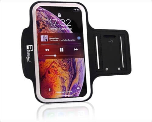 reveresport running armband for iphone 11, 11 pro and 11 pro max