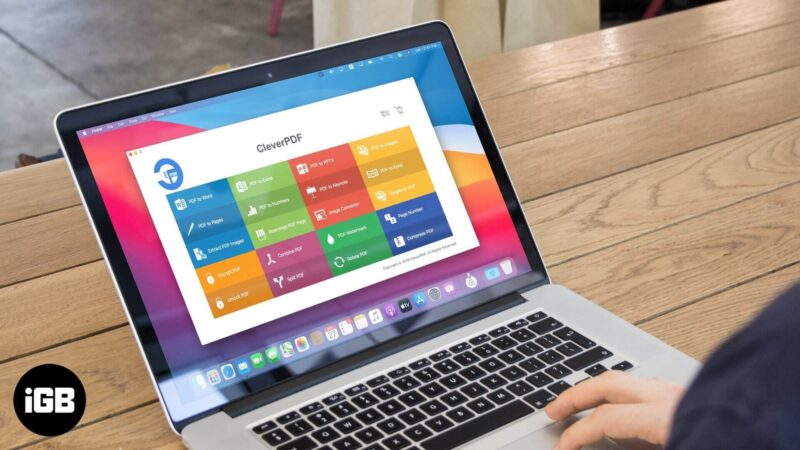review of cleverpdf for mac