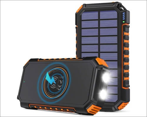 Riapow Solar Charger for iPhone