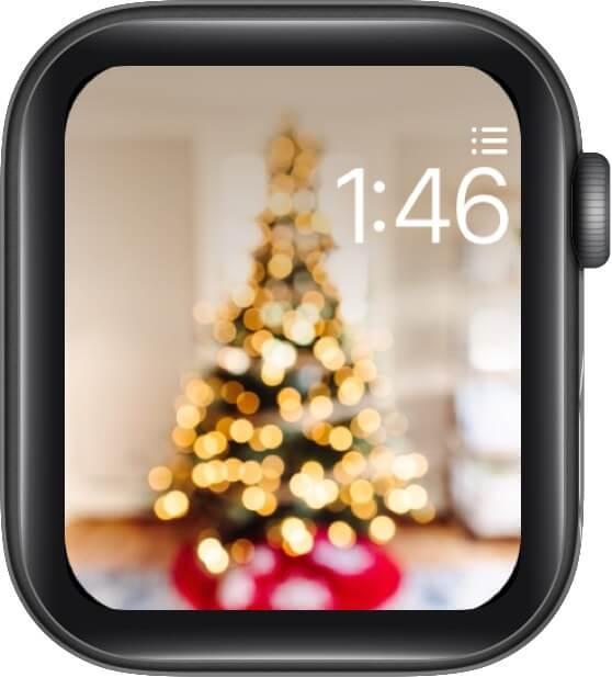 Rockin Around The Christmas Tree Watch Face