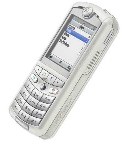 Rokr E1 iTunes Phone