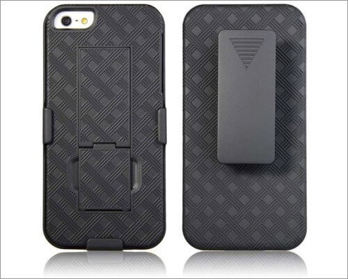 Rome tech protective kickstand case for iPhone 5