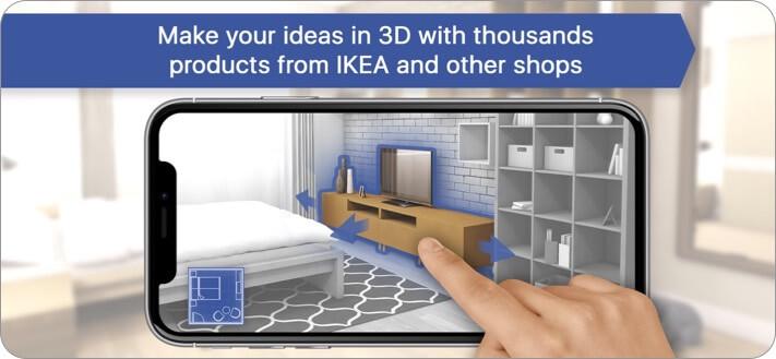 Room Planner Home Design 3D iPhone and iPad App Screenshot