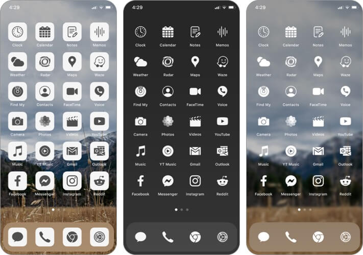 Ruffsnap App Icon Set for iPhone and iPad