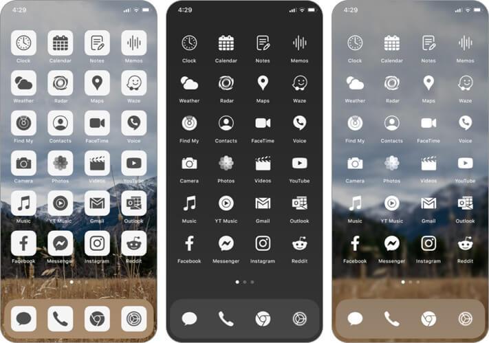 Ruffsnap App Icon Set für iPhone und iPad