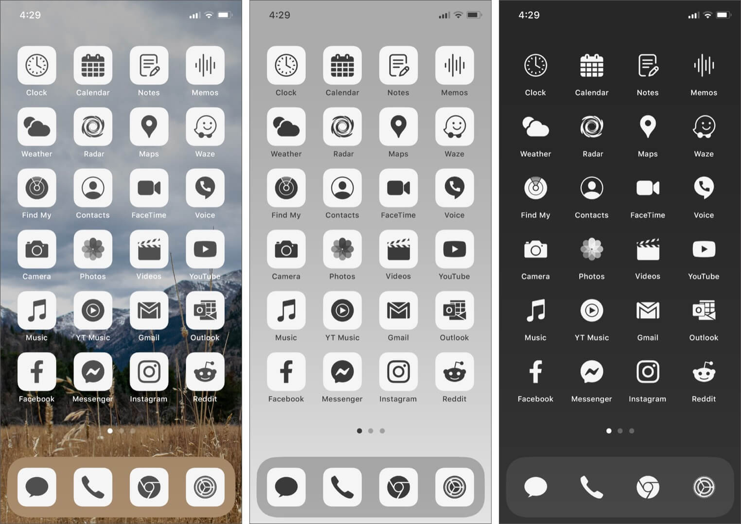 Ruffsnap App Icons Pack for iPhone Running iOS 14