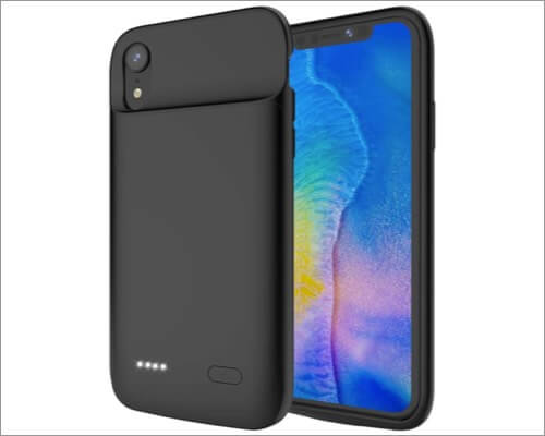 runsy battery case for iphone xr