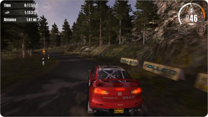 rush rally 3 apple tv game screenshot