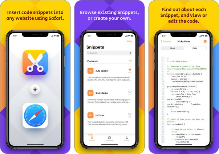 safari-snippets-iphone-and-ipad-safari-extensions-app