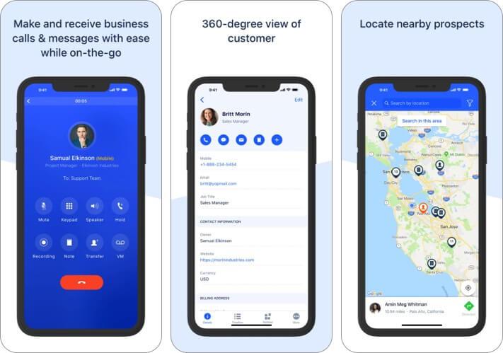 Salesmate – Sales CRM iPhone and iPad App Screenshot