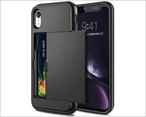 samonpow card holder case for iphone xr