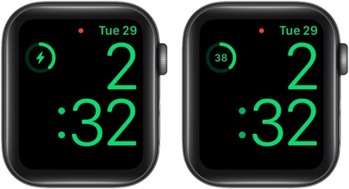See Exact Apple Watch Battery Percentage While Charging