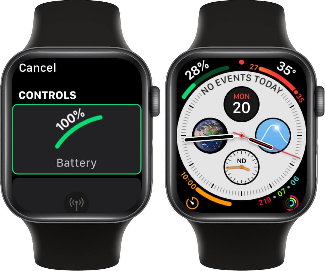 Apple watch battery