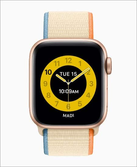 set schooltime mode on kid's apple watch