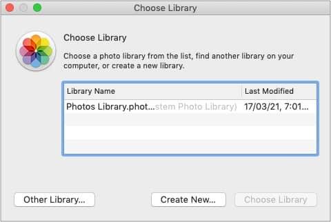 Set up private iCloud libraries on Mac