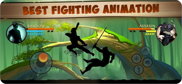 Shadow Fight 2 iPhone and iPad RPG Game Screenshot