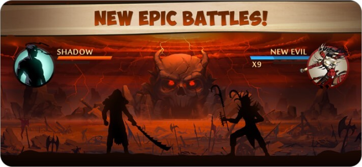 Shadow Fight 2 iPhone and iPad Action Game Screenshot