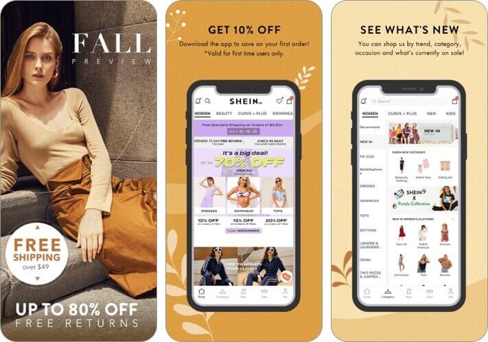 shein-fashion shopping online iphone and ipad app screenshot
