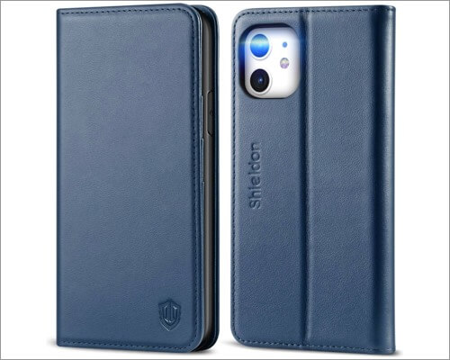 shieldon iphone 11 genuine leather case