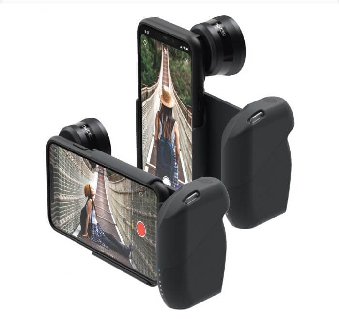 shoot like a pro with shiftcam progrip