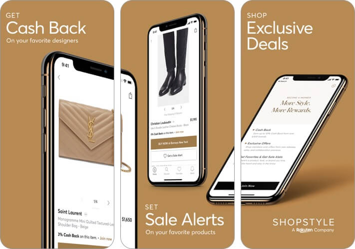 shopstyle iphone and ipad fashion app screenshot
