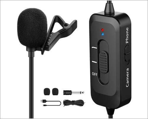 Shotory microphone with lightning cable