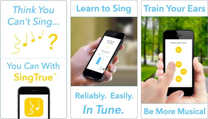 singtrue karaoke iphone and ipad app screenshot