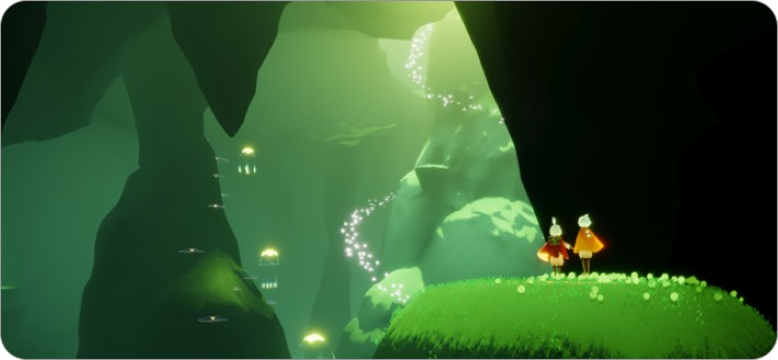 sky children of the light iphone and ipad multiplayer game screenshot