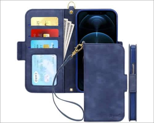SkyCase Folio Wallet Case for iPhone 12 Pro Max