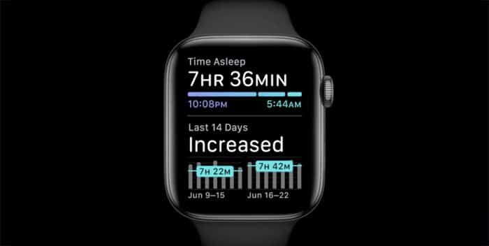 sleep monitoring and wind down mode
