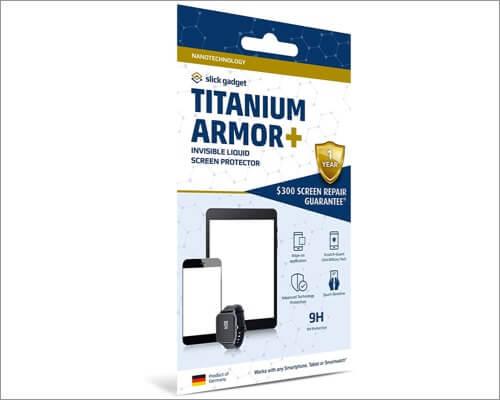 slick gadget nano liquid screen protector for iphone xr