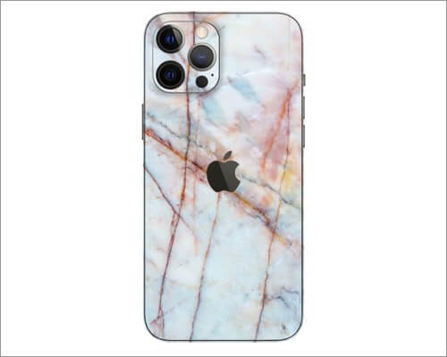 SlickWraps Marble Skin for iPhone 12