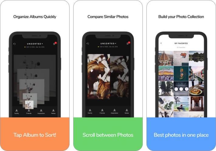 Slidebox Photo Manager iPhone and iPad App Screenshot
