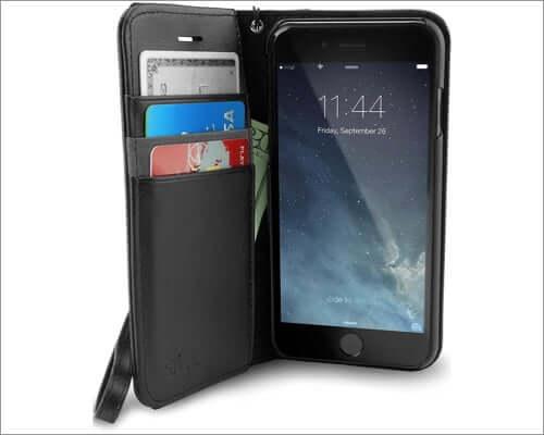 smartish folio wallet case for iphone se 2020