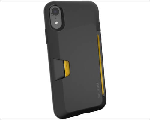 smartish iphone xr card holder case