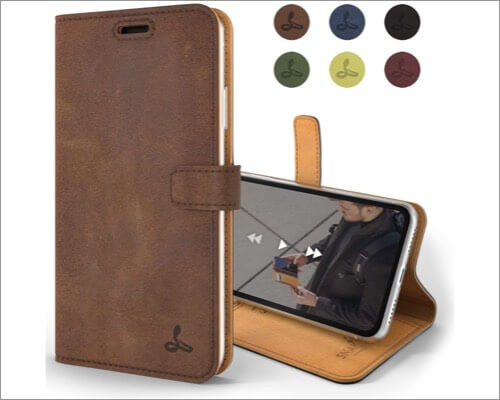 snakehive genuine leather case for iphone xr