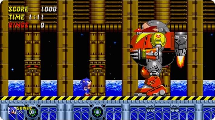 sonic the hedgehog 2 classic apple tv game screenshot