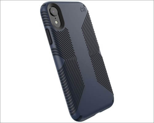 speck presidio grip slim case for iphone xr